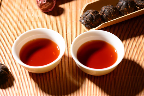 "2012 Yong Zhen ""Golden Melon Mini Tuo"" Ripe Pu-erh Tea"