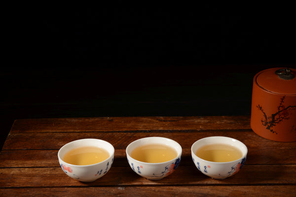 "2019 Yunnan Sourcing ""Ding Jia Zhai"" Ancient Arbor Raw Pu-erh Tea Cake"