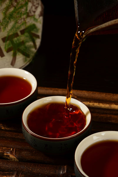 "2020 Yunnan Sourcing ""Bronze Label Peerless"" Ripe Pu-erh Tea Cake"