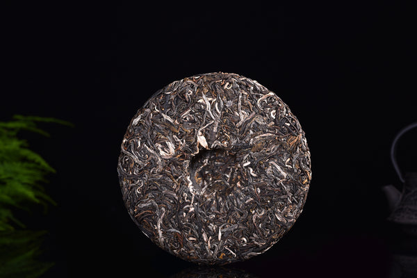 "2018 Yunnan Sourcing ""Autumn Lao Qian Village"" Yi Wu Raw Pu-erh Tea Cake"