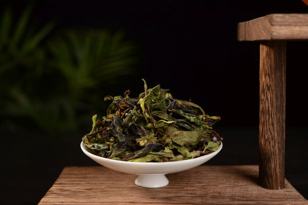 Wild Tree Purple Moonlight White Tea from Jinggu