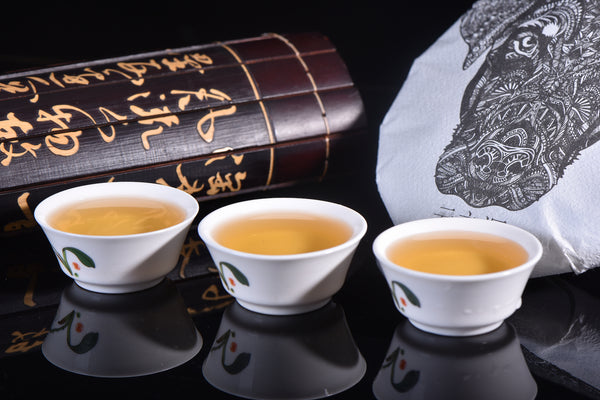 "2018 Yunnan Sourcing ""Autumn Di Jie"" Raw Pu-erh Tea Cake"