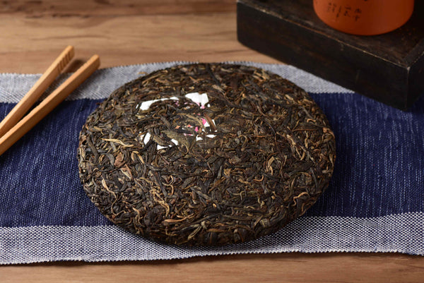 "2020 Yunnan Sourcing ""Endure"" Raw Pu-erh Tea Cake"