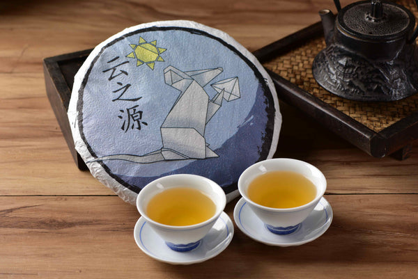 "2020 Yunnan Sourcing ""Autumn Di Jie"" Raw Pu-erh Tea Cake"