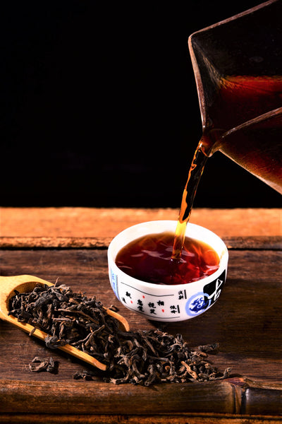"Menghai ""Everyday Drinker"" Loose Leaf Ripe Pu-erh Tea"