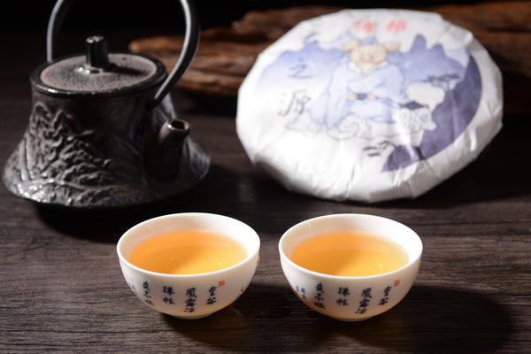 "2019 Yunnan Sourcing ""Autumn Yi Bang"" Raw Pu-erh Tea Cake"