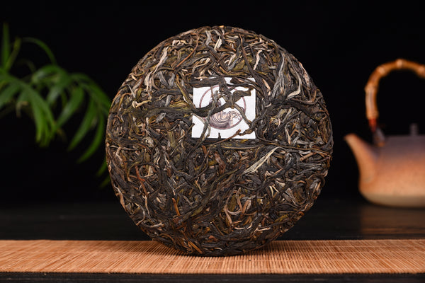 "2018 Yunnan Sourcing ""Autumn Man Zhuan"" Ancient Arbor Raw Pu-erh Tea Cake"