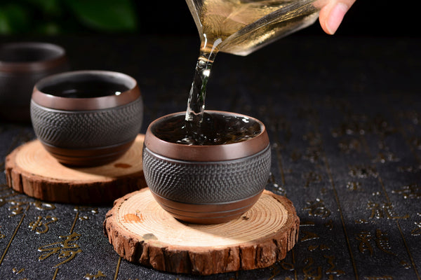 "Jian Shui Clay ""Egg Holder"" Cup"