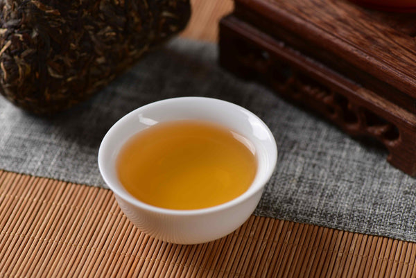 "Mang Fei Mountain ""Mandala Mushroom"" Raw Pu-erh Tea Tuo"