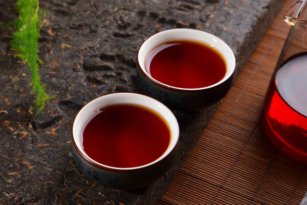 "2020 Three Cranes ""1815 Recipe"" Liu Bao Tea Brick"