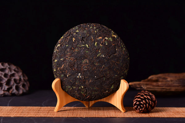 "2020 Yunnan Sourcing ""Nuo Mi Xiang"" Ripe Pu-erh tea and Sticky Rice Herb"
