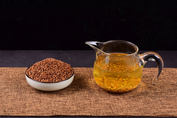 Himalayan Black Tartary Buckwheat Roasted Tea * Fagopyrum tataricum