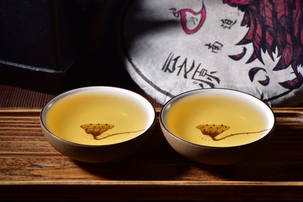 Lotus Fruit Cups for Gong Fu Tea * Set of 2