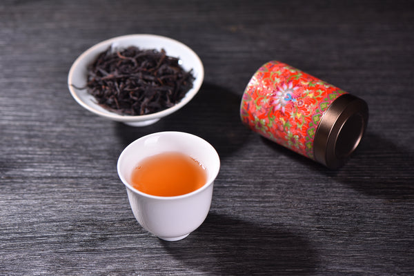 "12 Years Aged ""Mi Lan Xiang"" Dan Cong Oolong Tea in Ceramic Canister"