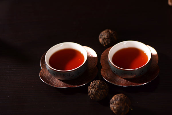 Mang Fei Mountain of Yong De Ripe Pu-erh Tea Dragon Balls