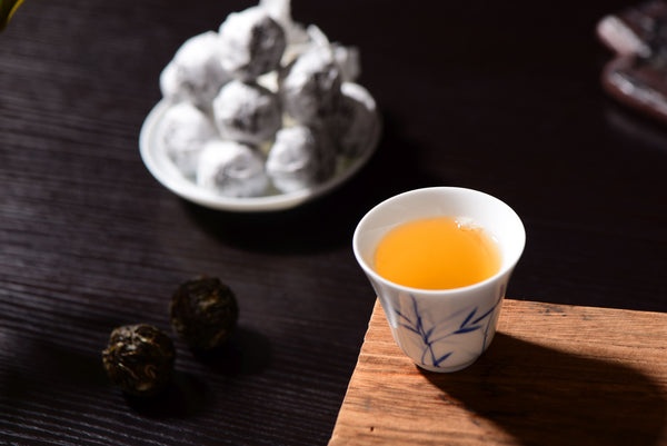 Mei Zi Qing Village Raw Pu-erh Tea Dragon Balls