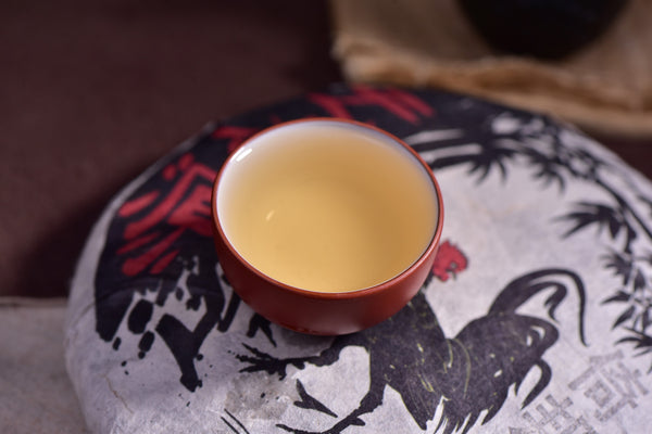 "2017 Yunnan Sourcing ""Yi Bang"" Ancient Arbor Raw Pu-erh Tea Cake"