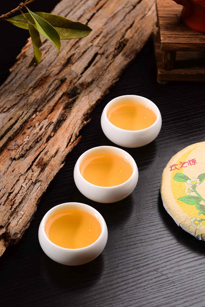 "2020 Yunnan Sourcing ""Ye Cha"" Single Grove Raw Pu-erh Tea Cake"