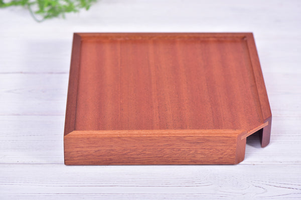 Hardwood Tray for Chiseling Away at your Pu-erh Tea Cake