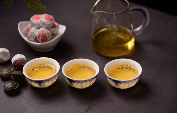 "2019 Yunnan Sourcing ""Lucky Pig Mini Tuo"" Raw Pu-erh Tea"