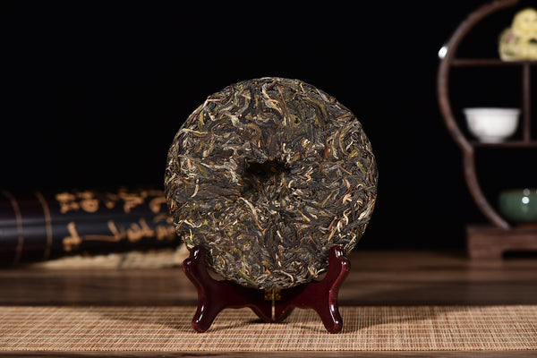 "2017 Yunnan Sourcing ""Autumn Wa Long Village"" Yi Wu Old Arbor Raw Pu-erh Tea Cake"