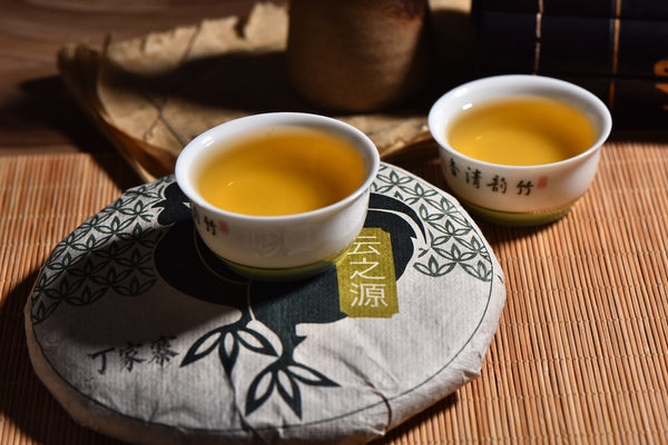 "2017 Yunnan Sourcing ""Autumn Ding Jia Zhai"" Raw Pu-erh Tea Cake"