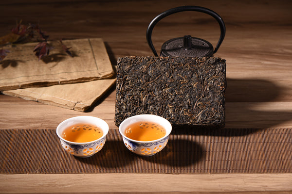 2002 Bu Lang Mountain Raw Pu-erh Tea Brick
