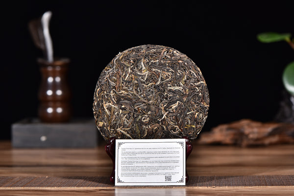 "2017 Yunnan Sourcing ""Autumn Yi Bang"" Raw Pu-erh Tea Cake"