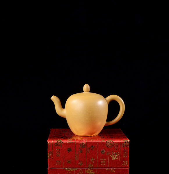 "Duan Ni Clay ""Mei Ren Jian"" Yixing Teapot by Tan Jun"