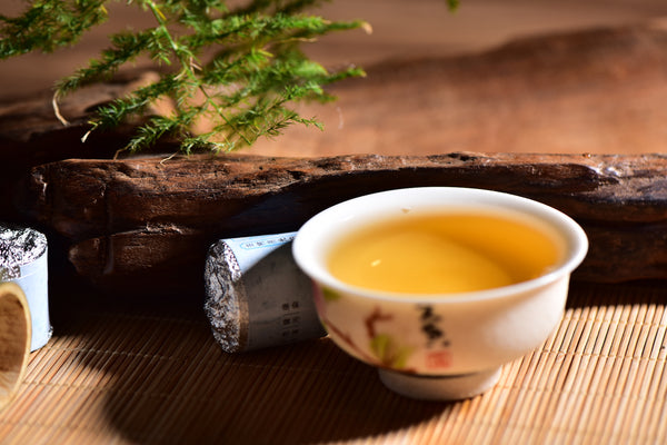 "Mengku ""Yue Guang Bai"" White Tea Roasted in Aromatic Bamboo"