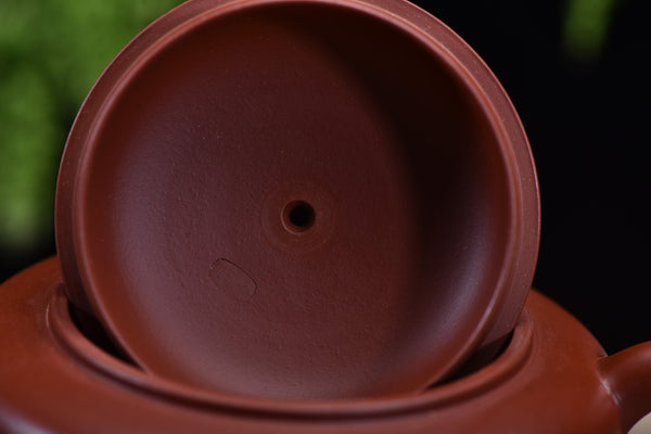 "Da Hong Pao Clay ""Bian Yu"" Yixing Teapot by Wang Ting"