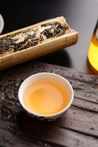 Meng Song Bamboo Roasted Raw Pu-erh Tea