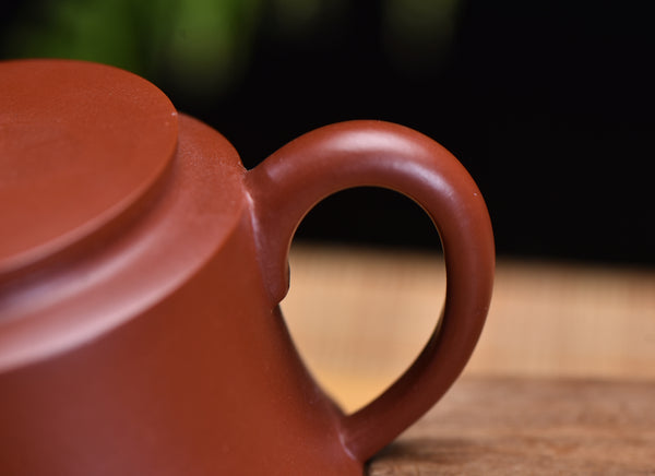 "Da Hong Pao Clay ""Jin Zhong"" Yixing Teapot by Wang Ting"