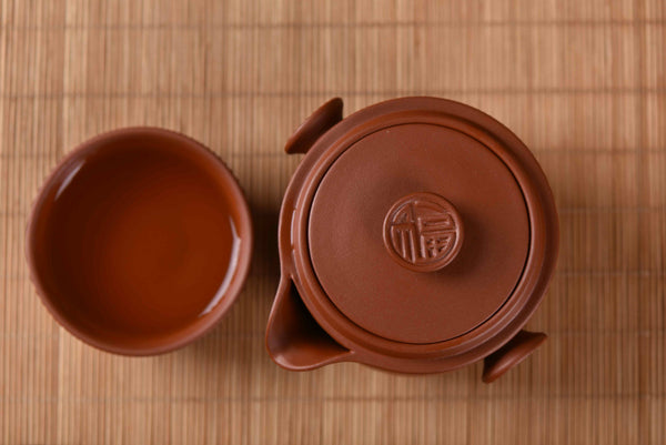 Yixing Qing Shui Ni Clay Easy Gaiwan For Gong Fu Cha
