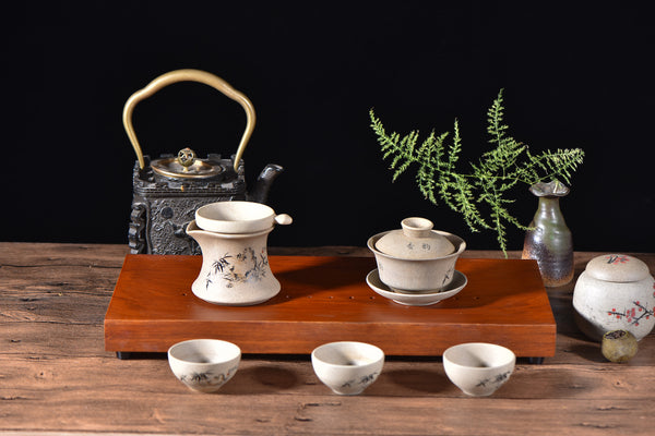 "Hardwood ""Minimalis"" Gong Fu Cha Tea Table"