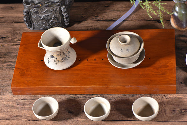 "Rosewood ""Minimalis"" Gong Fu Cha Tea Table"