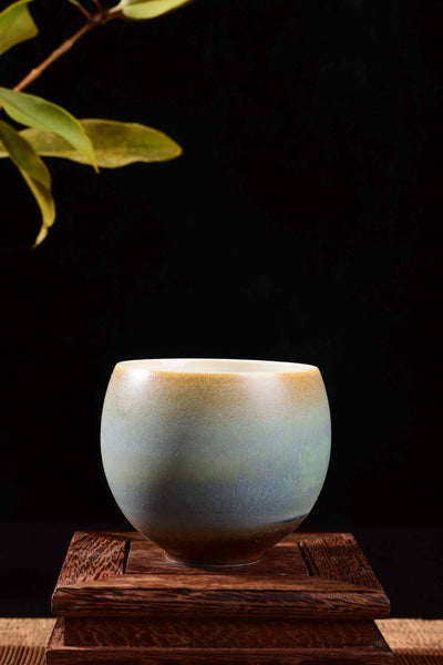 "Ceramic ""Pastel Sunrise"" Gaiwan and Cups"