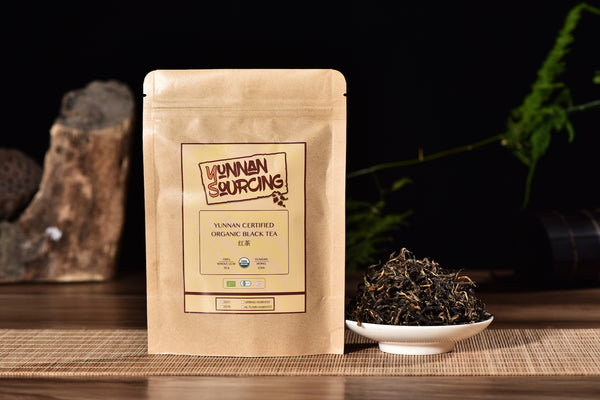 "Certified Organic ""Yunnan Black Tea"""