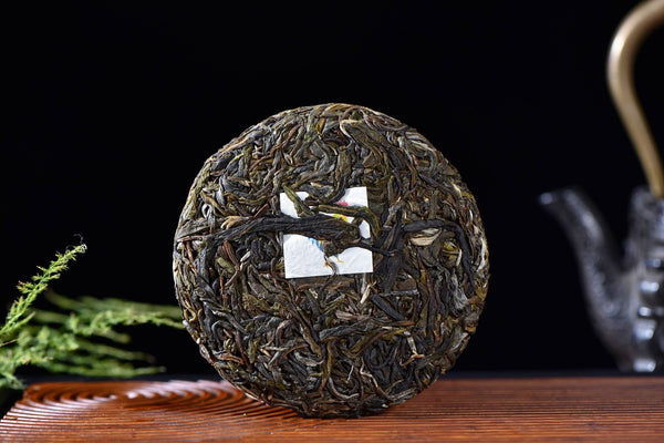 "2017 Yunnan Sourcing ""Tofu Village Rooster"" Mini Raw Pu-erh Tea Cake"