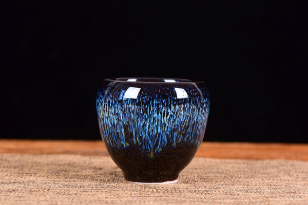 Tian Mu Glazed Electric Blue Cup * 90ml