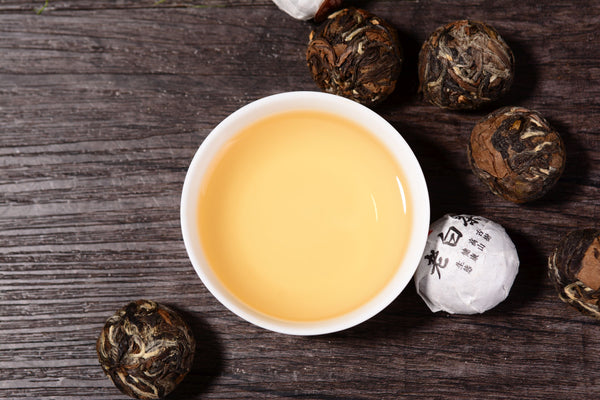 "Fuding ""Shou Mei Dragon Balls"" White Tea"