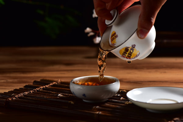 Yunnan Sourcing Branded White Gaiwan * 150ml
