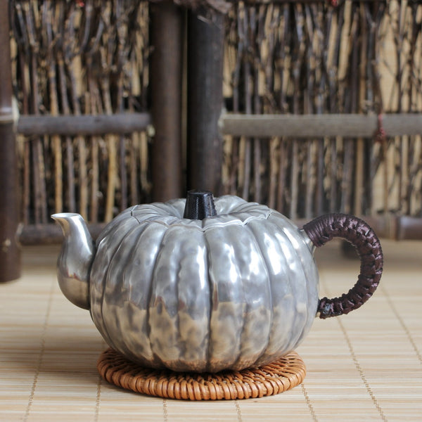 "Pure Silver 999 ""Pumpkin"" Teapot * 200ml"