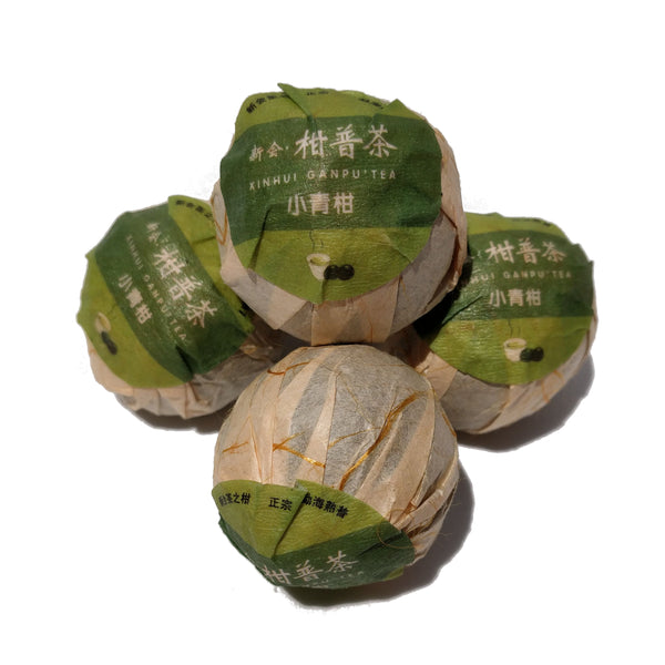 Menghai Ripe Pu-erh Tea Cured in King Orange Fruit