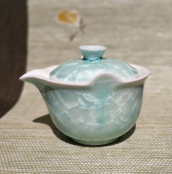 Blue Celadon Glazed Ceramic Easy Gaiwan * 165ml