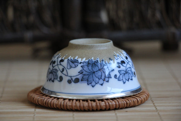 Pure Silver 999 and Jing De Zhen Porcelain Cup * 35ml