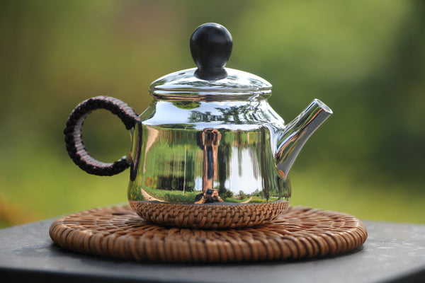 "Pure Silver 999 ""Kettle Shape"" Teapot * 65ml"