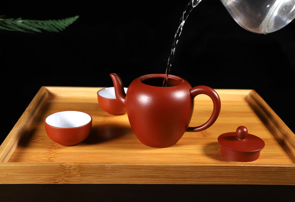 "Da Hong Pao Clay ""Mei Ren Jian"" Yixing Teapot * 200ml"