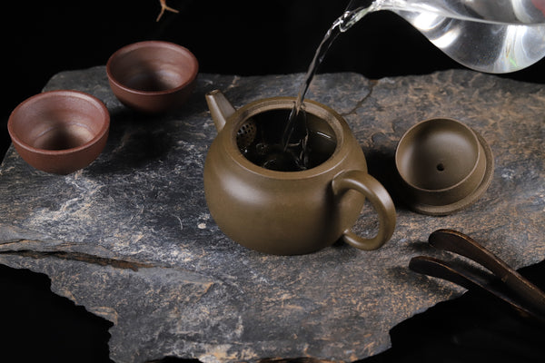 "Qing Hui Ni Clay ""De Zhong"" Yixing Teapot by Tan Jun * 200ml"