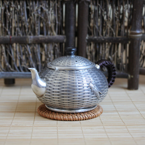 "Pure Silver 999 ""Contentment"" Teapot * 195ml"